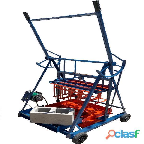 Bloqueras   Maquinas para fabricar blocks de arena y cemento. 2