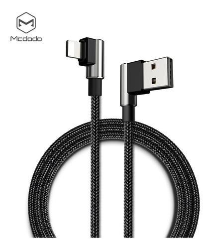 Ca 3372 mcdodo cable iphone,conectores a 90° y reversibles!