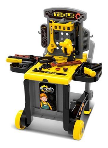 Mesa didactica - super banco carrito de herramientas juguete