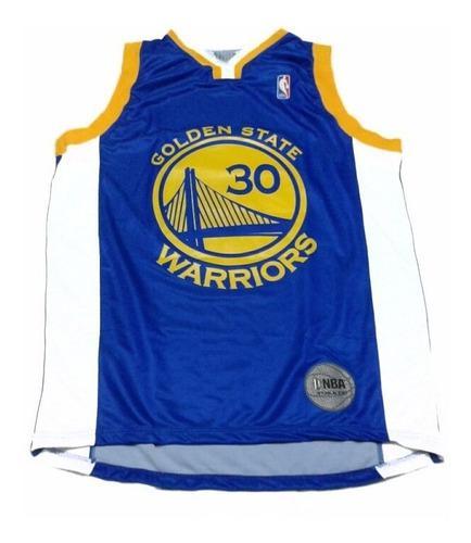 Musculosa basquet nba oficial golden state warriors tdk