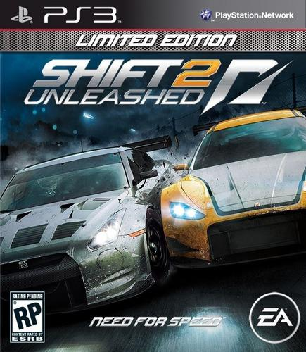 Need for speed shift 2 unleashed ps3 ultimate español hoy!!