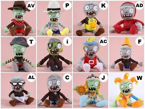 Pvz ps3 peluche plantas vs zombies $399 mas de 20 modelos!