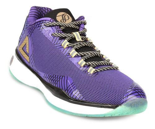 Zapatillas basquet peak tony parker tp9 violeta