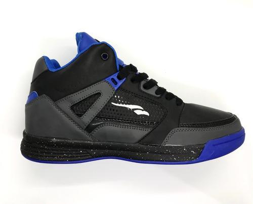 Zapatillas de basquet reforzadas finders negra oferta