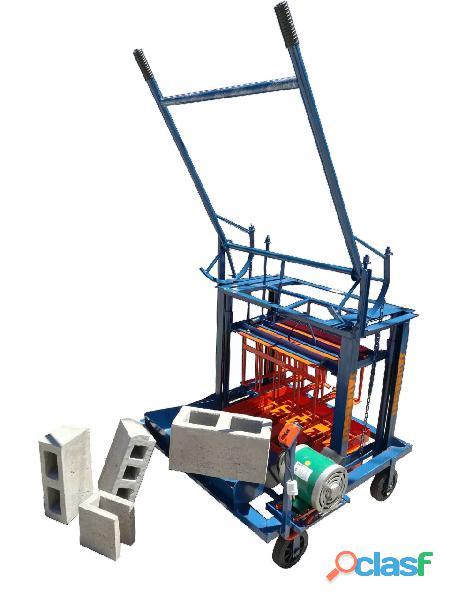 Maquinas Bloqueras, para bloques de arena y cemento. 4