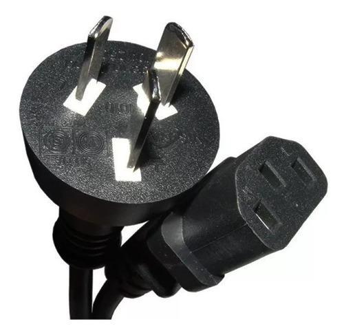 Cable power interlook alimentacion 220v para pc monitor 1.5m