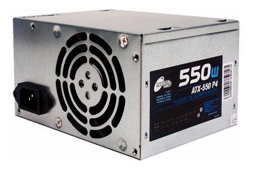 Fuente alimentación pc atx 500w 550w fuente de energía