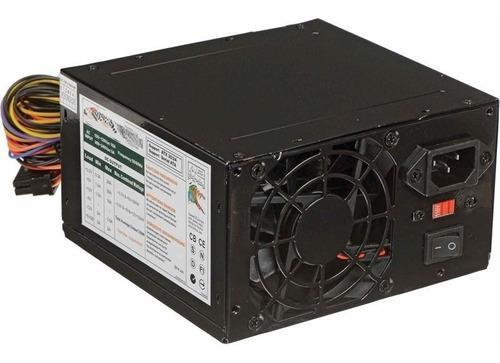 Fuente cromax alimentacion pc 500w atx cooler 8 cm sata
