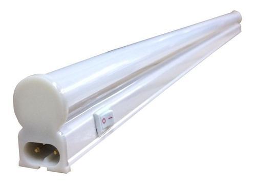Listón led 60cm 8w 220v luz día bajo alacena con tecla