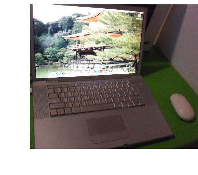 Macbook Pro A1150 Intel Core Duo 80gb 1,5 Todo Funciona