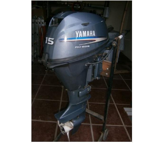 Urgente! vendo motor nautico fuera borda yamaha 15hp 4tiempo