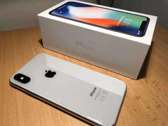 Apple iphone X 64GB desbloqueado