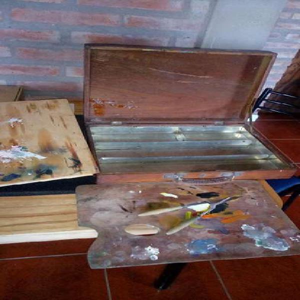 Atache valija pinturas
