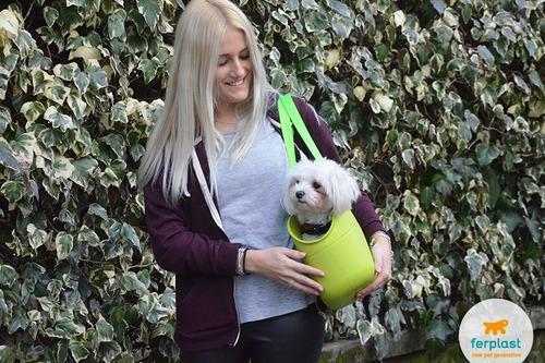 Bolso de transporte para perros pequeños ferplast with-me