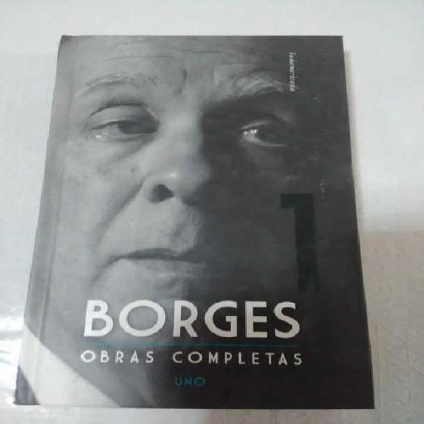 Borges Obras completas 1 Sudamericana
