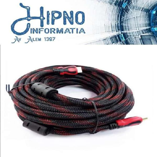 Cable hdmi a hdmi 3 mtrs 1080p 1.4v