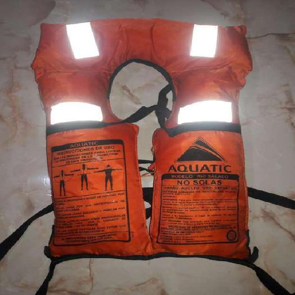 Chalecos Salvavidas Aquatic X3 Poco Uso