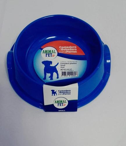 Comedero bebedero plastico animal pet plato small
