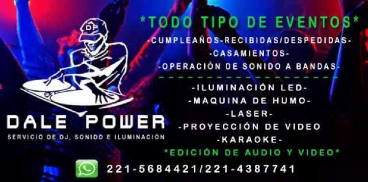 Dale power sonido iluminación