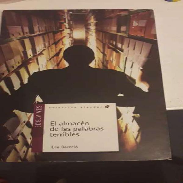 El almacén de las palabras terribles Elia Barceló
