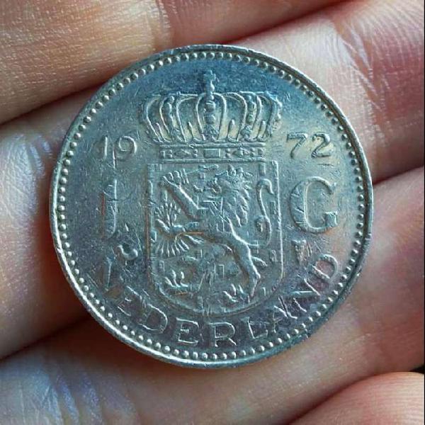 Holanda (Países Bajos - Netherlands) 1 Gulden 1972
