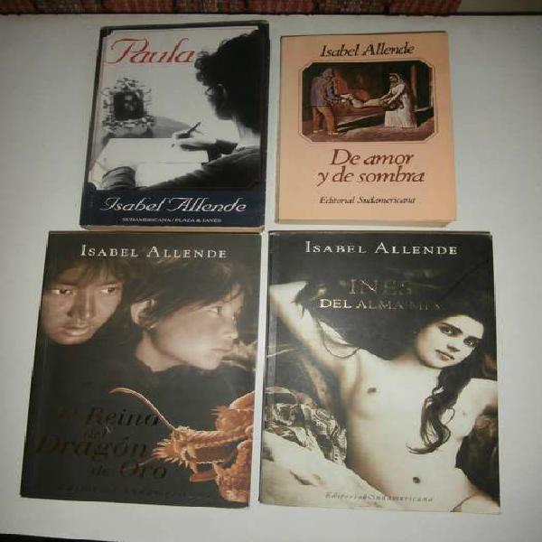 Isabel allende: 4 libros imprescindibles de su obra
