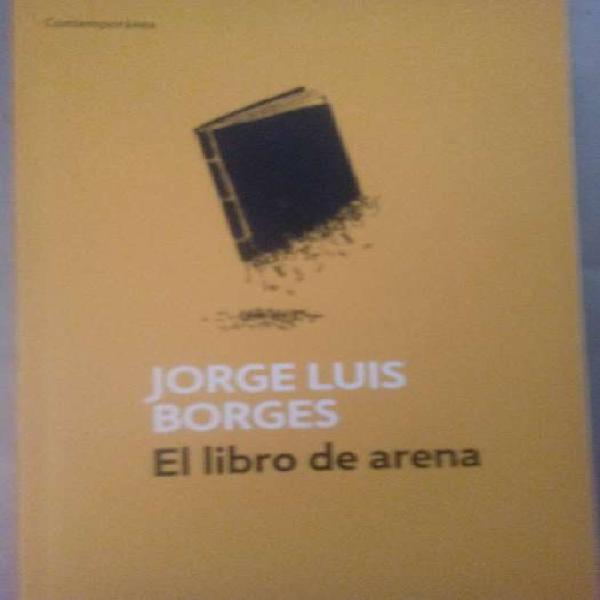 LIBRO DE ARENA de JORGE LUIS BORGES