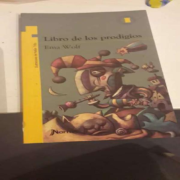 Libro de los prodigios Ema Wolf Norma