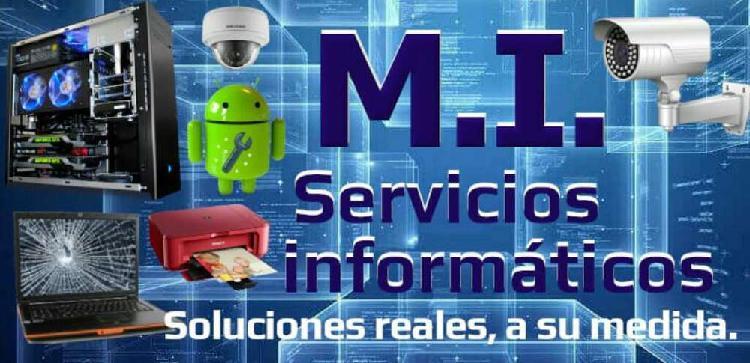 M.i servicio técnico pc - redes - cctv