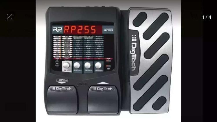 Pedalera digitech rp255 para guitarra eléctrica como nueva