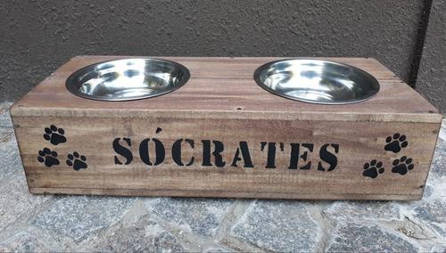 Plato comedero bebedero para mascotas, perros,gatos