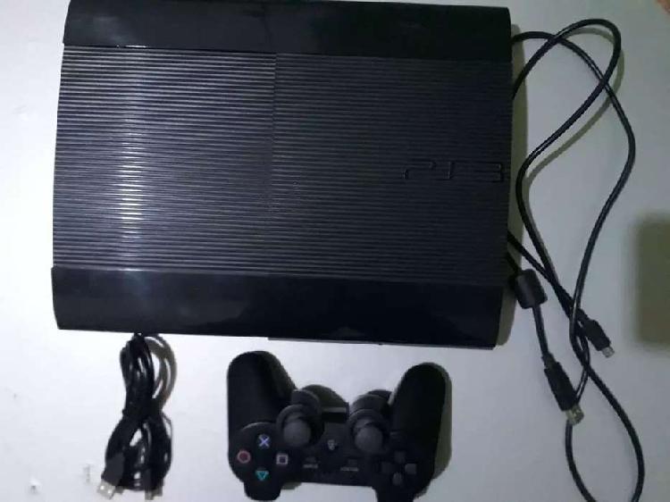 Ps3 + joystick + disco duro de 500gb