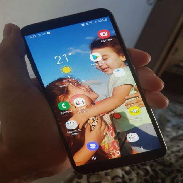 Samsung J6 para claro detalles