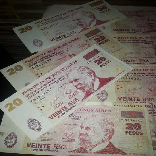 billetes patacones