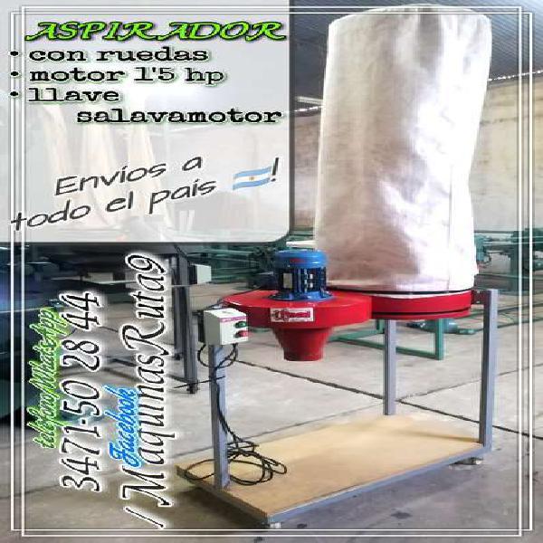 Aspirador industrial (extractor máquina carpintería