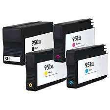 Cartucho 951 y 950 xl negro y color marca alternativo