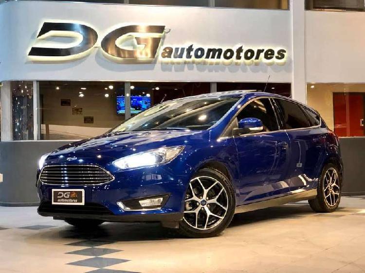 Ford focus titanium 2.0n at   72.000 km   2017   recibo