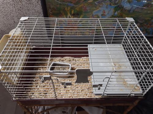Jaula conejos cobayos 72 x 44 x 39 tommy72 c