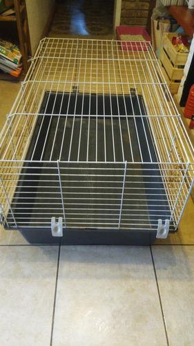 Jaula grande para cobayas y conejos