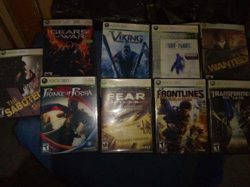 Juegos x box 360 copias