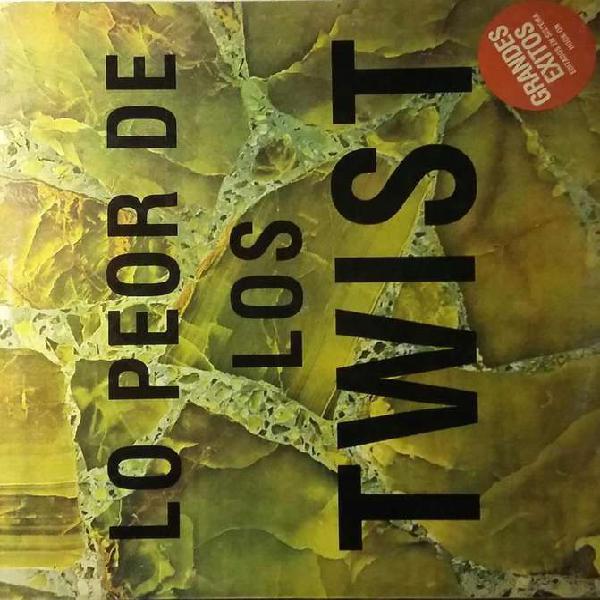 Disco vinilo los twist lo peor de los twsit orig 1986