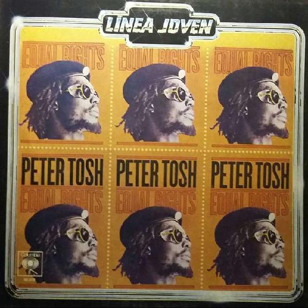 Disco vinilo peter tosh equal rights original columbia 1977