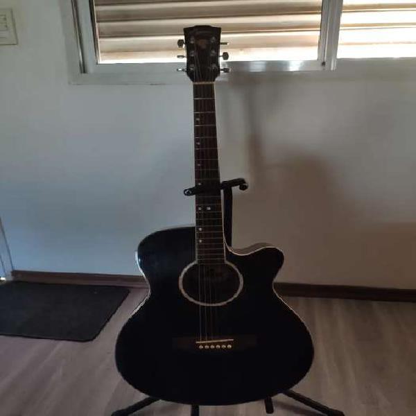 Guitarra electroacústica lyon