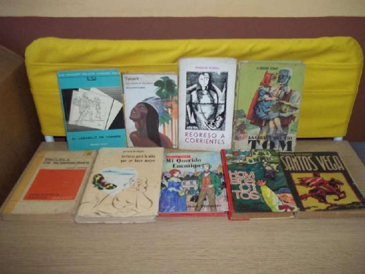 Libros usados variados 100 c/u