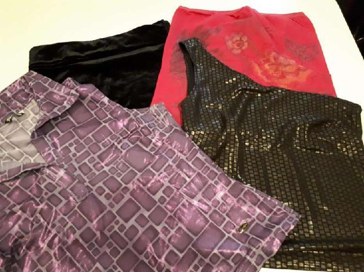 Lote remeritas, straples y mangas larga de vestir impecables