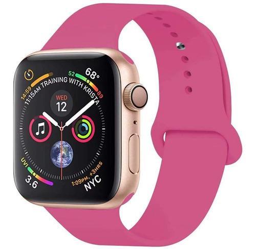 Malla apple watch silicona 38 y 42mm sport band