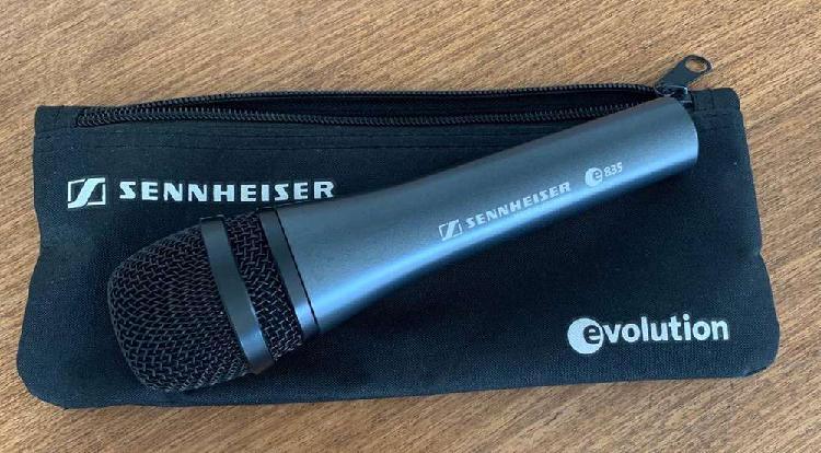 Microfono sennheiser e-835 dinamico nuevo