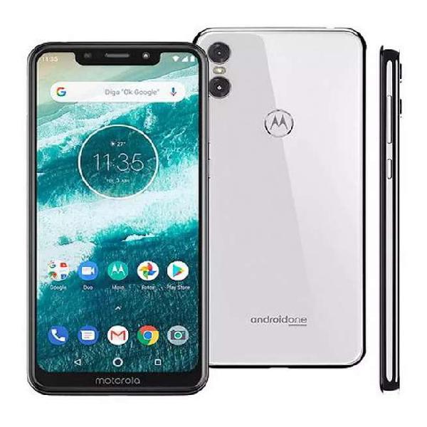 Motorola one dual blanco