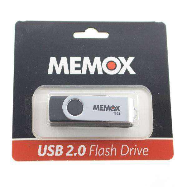 Pen drive de 16 GB Flash drive Memox. Memoria USB 2.0.