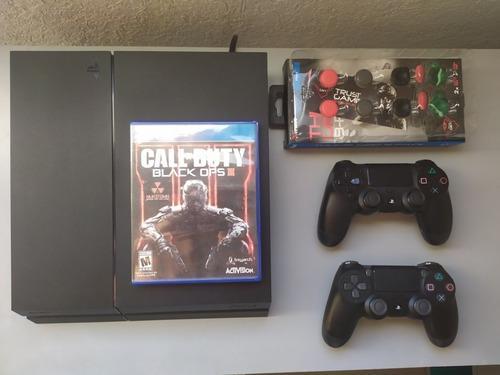 Ps4 500 gb + 40 juegos digitales y 1 juego físico, 2